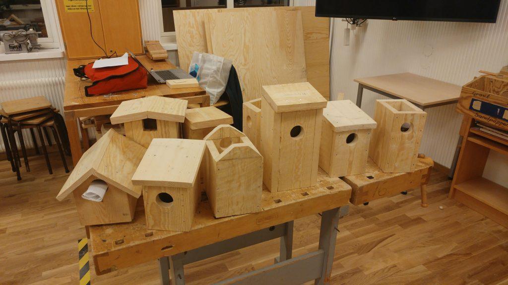 Fågelholkar i undervisningen