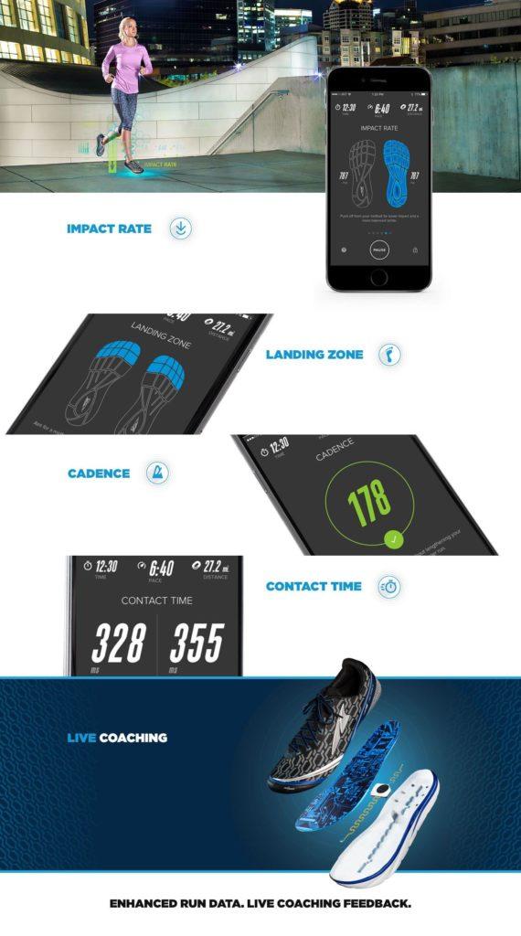 Altra Torin IQ - smart uppkopplad löpsko med coachande mobilapp