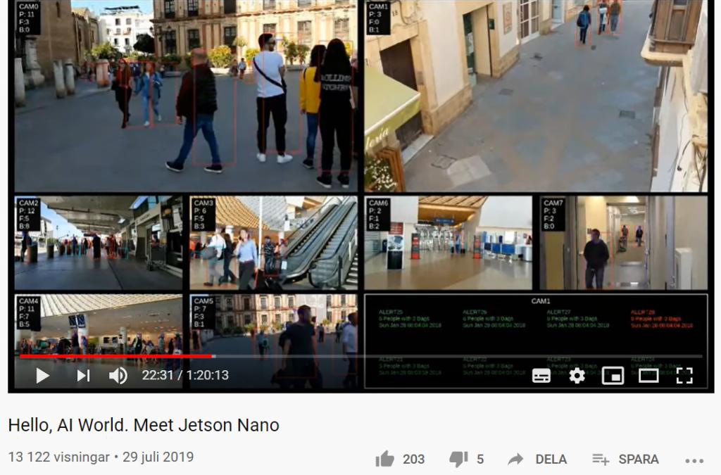 Webinar om Nvidia Jetson Nano